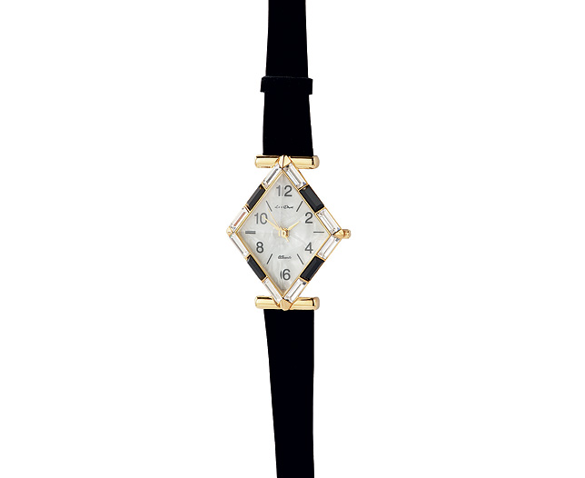 Art Deco Prism Watch - Gold