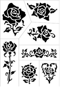 Tattoo Art Roses