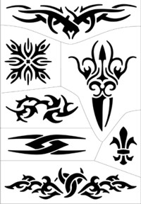prices tribal tattoo use art at stencil tribal 19 easy to tattoo tattoo