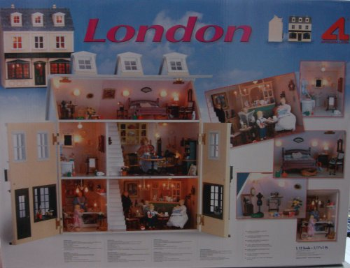 artisania latina DOLLS HOUSE KIT LONDON by ARTISANIA LATINA product image