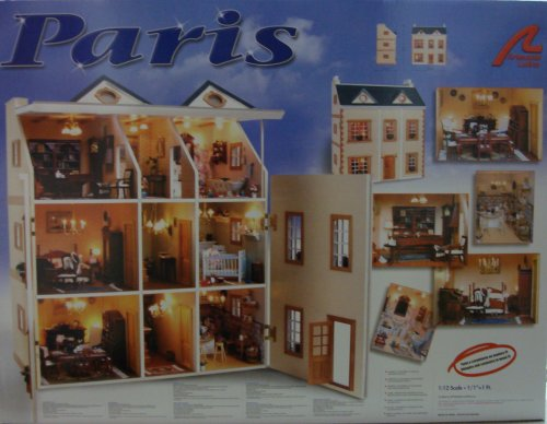 artisania latina DOLLS HOUSE KIT PARIS by ARTISANIA LATINA product image