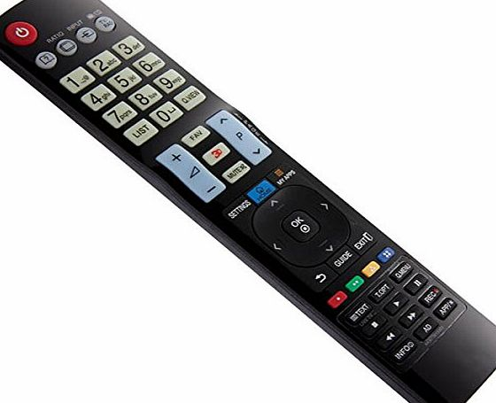 ArtLineE LG 3D SMART TV Replacement Remote Control AKB73615362 AKB73615303 AKB73615361