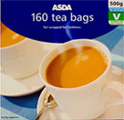asda tea bags 160 per pack 500g on offer review. Black Bedroom Furniture Sets. Home Design Ideas