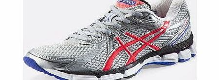 Asics Womens Patriot  Neutral Running Shoes White Pearl White Purple