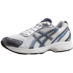 Womens Gel-Maverick Running Shoe White/Powder Blue/Silver