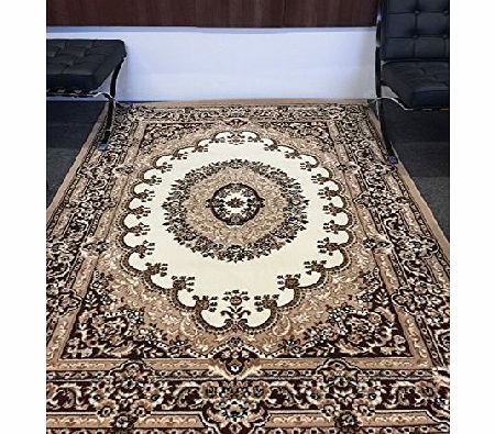 ASPECT Traditional Style Rug 160x225cm Coffee/Ivory,Beige,Brown product image