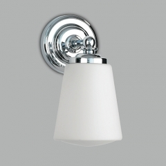 Anton Chrome Bathroom Wall Light