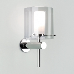 Arezzo Chrome Bathroom Wall Light