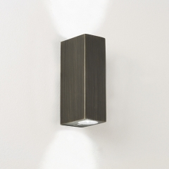 Bloc Up Down Bronze LED Wall Light