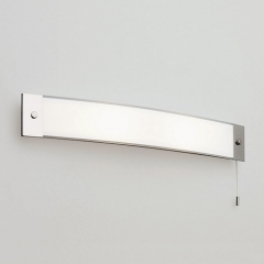 Bow Bathroom Wall Light Switched