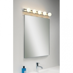 Cabaret 5 Light Modern Bathroom Wall Light