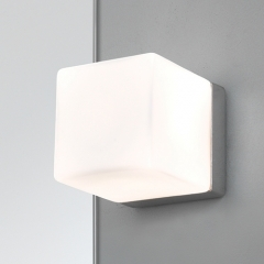Cube Bathroom Wall Light