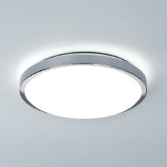 Denia Chrome Bathroom Ceiling Light