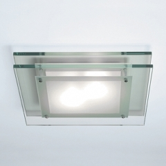 Astro Lighting Duplex Glass Bathroom Ceiling Light