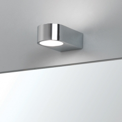 Epsilon Chrome Bathroom Wall Light