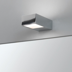 Kappa Chrome Bathroom Wall Light