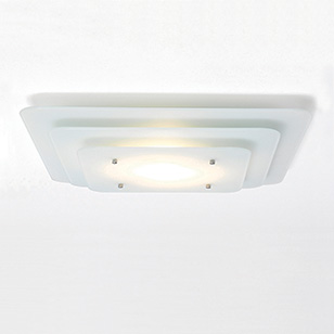 Contemporary Bathroom Lighting on Astro Lighting Lana Glass Bathroom Ceiling Light The Light Given