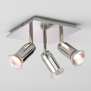 Cheaper Ceiling Spotlights, the Prism 4 spotlights bar and Less