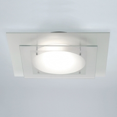 Planar Glass Bathroom Ceiling Light