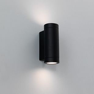 Low Energy Exterior Wall Lights : Astro Lighting Porto Black Low Energy Outdoor Wall Light That Directs Light Both Up And Down ...