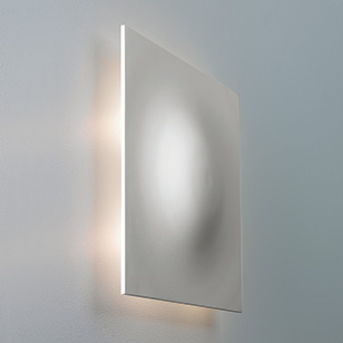 Modern Ceramic Wall Lights : Astro Lighting Rapallo Modern Square Ceramic Wall Light That Directs Light From All Four Sides ...