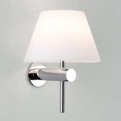 Roma Chrome Bathroom Wall Light Not Switched