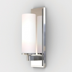 Savio Chrome Bathroom Wall Light