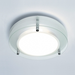 Strata Round Bathroom Ceiling Light