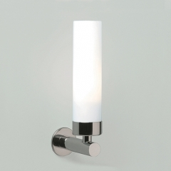 Tube Chrome Bathroom Wall Light Not Switched