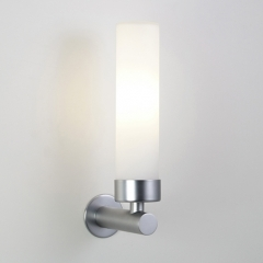 Astro Lighting Tube Nickel Bathroom Wall Light