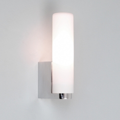 Tulsa Chrome Bathroom Wall Light