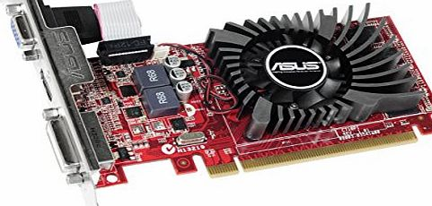 ASUS AMD Radeon R7 240 2 GB DDR3 Graphics Card (PCI Express 3.0, HDMI, DVI-D, 128-Bit, Dust-Proof Fan, GPU Tweak Utility)