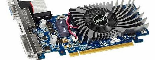 ASUS  GeForce 210 Nvidia Graphics Card (1GB DDR3, PCI Express 2.0, HDMI, DVI-I, DVI-D, DisplayPort, DirectX 11.0, OpenGL 4.2, Dust-Proof Fan) product image