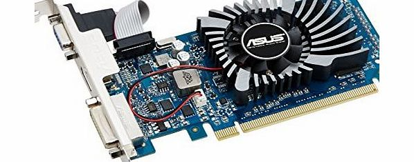 ASUS  GeForce GT 610 Nvidia Graphics Card (1GB DDR3, PCI Express 2.0, HDMI, DVI-I, VGA, DirectX 11.0, OpenGL 4.2, Dust-proof Fan, Super Alloy Power) product image