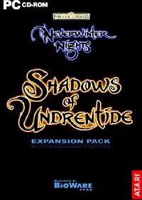 Atari Neverwinter Nights Expansion Shadows of Undrentide PC