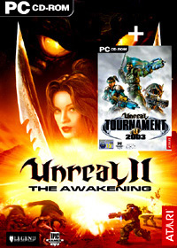 Atari Unreal 2 & Unreal Tournament 2003 PC