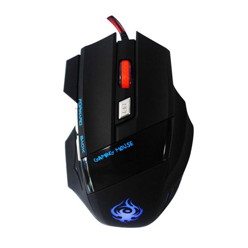 atdoshop (TM) 6 Button 2400DPI LED Optical USB Wired Gaming Mouse For PC Laptop Game