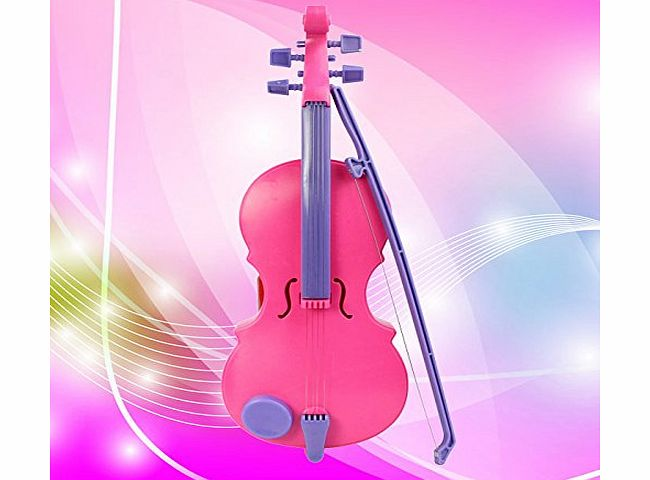 (TM) New Pink Magic Child Music Violin Childrens Musical Instrument Kids Funny Gift Toy