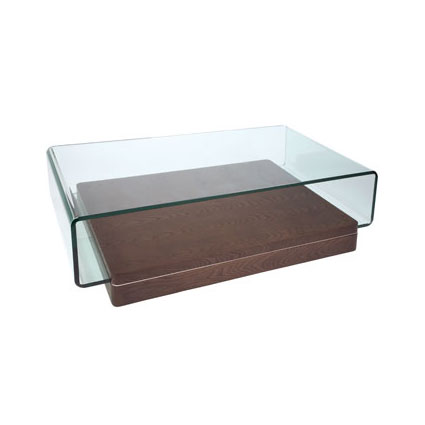 Atom Wood And Glass Coffee Table Review Compare Prices Buy Online