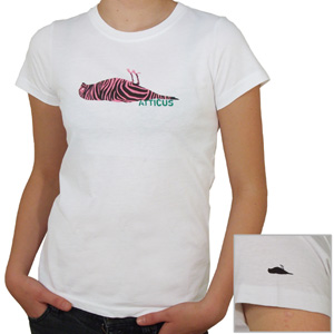Atticus Ladies Zebra Tee shirt