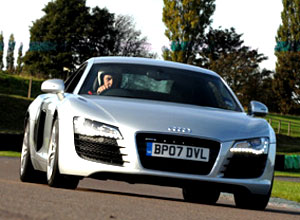 R8 and Lamborghini Gallardo Thrill