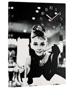 Icononic Photo Print Canvas Clock