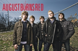 BURNS RED Group Music Poster