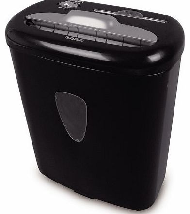 Aurora AS800CD Cross Cut Paper Shredder with 8 Sheet Capacity and Large Waste Bin