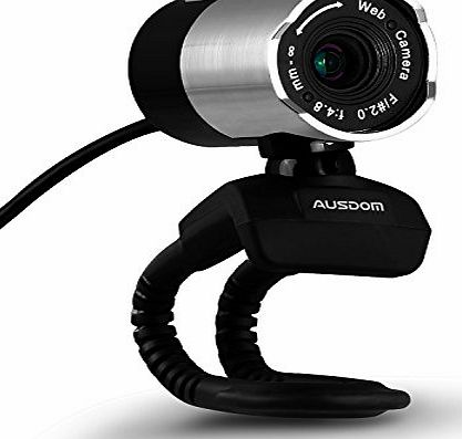 Ausdom Computer Camera, AUSDOM High Definition 1080P HD USB Webcam Network Camera USB Computer Web Cam with Microphone for Skype Facetime Youtube Yahoo Messenger