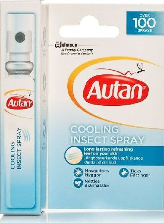 Autan, 2102[^]0004415 Cooling Insect Spray