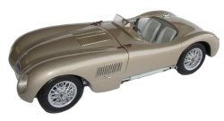 1:18 Scale Jaguar C-Type 1951 Bronze