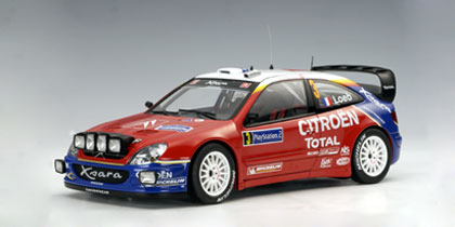 2004 Citroen Xsara WRC Loeb/D.Elena #3 (Rally of