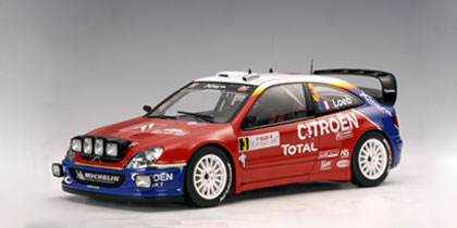2004 Citroen Xsara WRC Loeb/D.Elena (Winner of