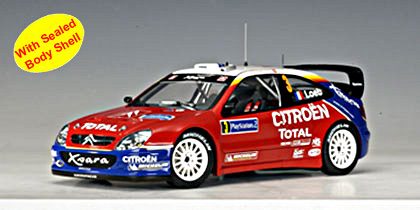 2004 Citroen Xsara WRC Rally France - S Loeb. in